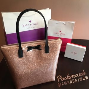 Kate Spade Rose Gold Mavis Tote - New with tags!